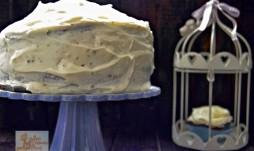 Cupcakes y tarta de calabaza