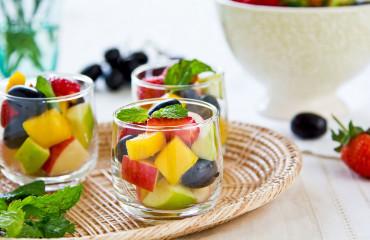 macedonia de frutas al mojito
