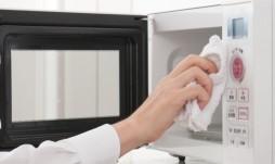 Limpieza hornos de microondas