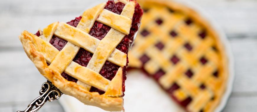 Receta El Vesubio Cherry Pie O Pastel Americano De Cerezas Con Masa Quebrada Casera