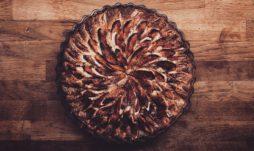Receta postre fácil El Vesubio: Pastel de manzana