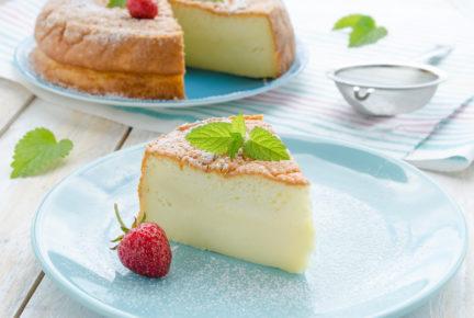 Una tarta tan esponjosa como las nubes☁