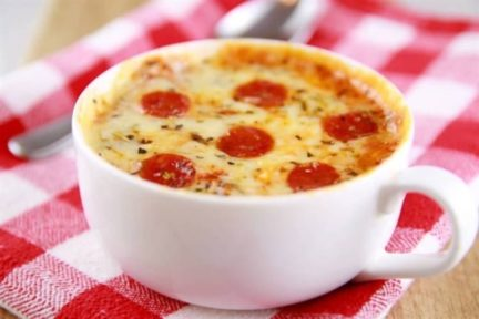 ¡NO TE LO VAS A CREER! Pizza en taza