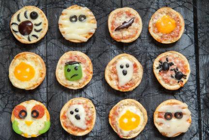Nunca una pizza había sido tan terrorífica
