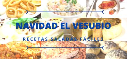 Recetas de Navidad El Vesubio: Las mejores recetas saladas