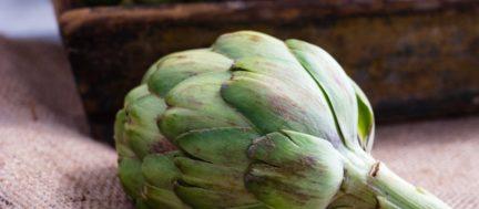 Receta El Vesubio: Crema de alcachofas