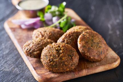Receta El Vesubio de falafel rápido y sencillo