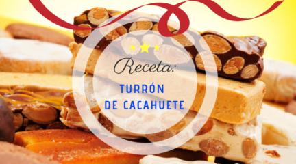 Receta Navidad El Vesubio: Turrón de cacahuete