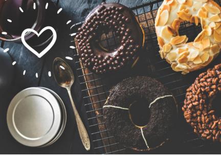 Receta El Vesubio: Mini Donuts Caseros Fitness