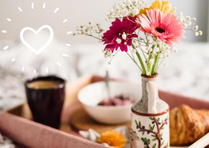 Los 6 mejores desayunos para enamorar en este San Valentín
