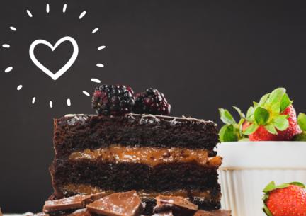 Receta San Valentín: Tarta de chocolate y dulce de leche