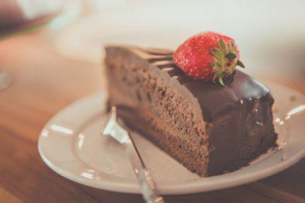 Receta El Vesubio: Tarta de queso japonés de chocolate