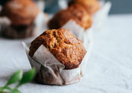 Receta El Vesubio: Muffins caseros de boniato