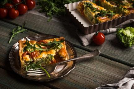 Receta El Vesubio: Pastel de puré de patata con espinacas y atún