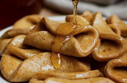 Receta El Vesubio: Pestiños caseros con miel