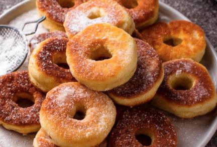Receta El Vesubio: Rosquillas fritas