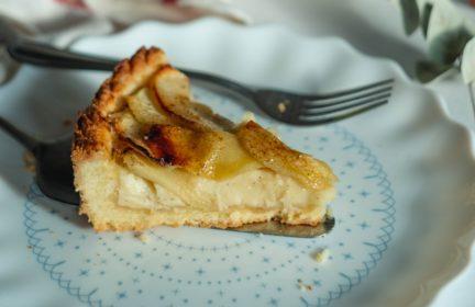 Receta El Vesubio: Tarta de manzana de la abuela
