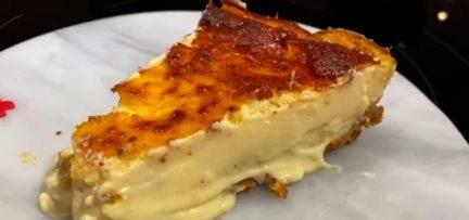 Receta: La mejor tarta de queso por Cristina Pedroche