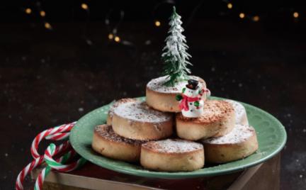 Receta tradicional de Navidad: Polvorones con canela y almendras para Thermomix
