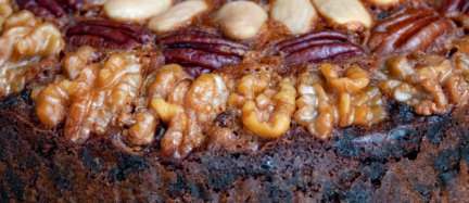 Receta El Vesubio: Pastel de nueces pecanas